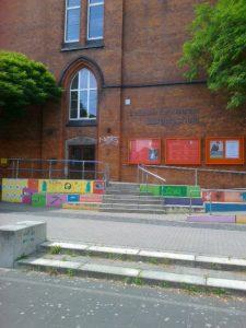 Eingang Bürgerschule